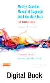 cover image - Mosby's Canadian Manual of Diagnostic and Laboratory Tests - Elsevier eBook on VitalSource