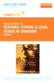 Ethical & Legal Issues in Canadian - Elsevier eBook on VitalSource (Retail Access Card), 3rd Edition