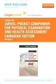 cover image - Pocket Companion for Physical Examination and Health Assessment, Canadian Edition - Elsevier eBook on VitalSource (Retail Access Card),2nd Edition