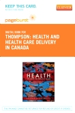 Health and Health Care Delivery in Canada - Elsevier eBook on VitalSource (Retail Access Card)