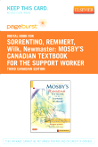 Mosby's Canadian Textbook for the Support Worker - Elsevier eBook on VitalSource (Retail Access Card), 3rd Edition
