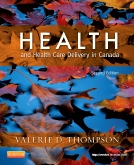 cover image - Health and Health Care Delivery in Canada,2nd Edition