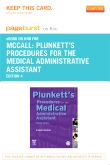 Plunkett's Procedures for the Medical Administrative Assistant - Elsevier eBook on Intel Education Study (Retail Access Card), 4th Edition