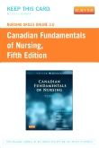 cover image - Nursing Skills Online 3.0 for Canadian Fundamentals of Nursing (User Guide and Access Code),5th Edition