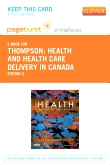cover image - Health and Health Care Delivery in Canada - Elsevier eBook on VitalSource (Retail Access Card),2nd Edition