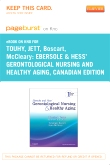 Ebersole and Hess' Gerontological Nursing and Healthy Aging, Canadian Edition - Elsevier eBook on Intel Education Study (Retail Access Card)
