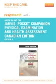 Pocket Companion for Physical Examination and Health Assessment Canadian Edition - Elsevier eBook on Intel Education Study (Retail Access Card), 2nd Edition