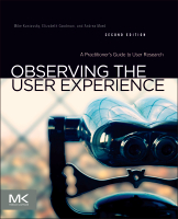 Observing the User Experience, 2nd Edition