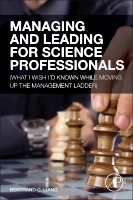 Managing and Leading for Science Professionals, 1st Edition
