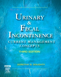 cover image - Urinary & Fecal Incontinence,3rd Edition