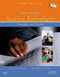 cover image - Evolve Resources for Cook and Hussey's Assistive Technologies,3rd Edition