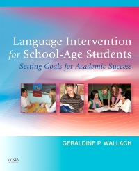 cover image - Language Intervention for School-Age Students