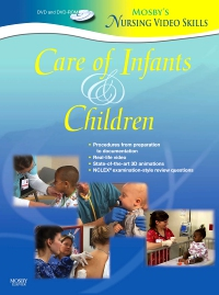 cover image - Mosby's Nursing VideoSkills: Care of Infants and Children
