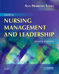 cover image - Guide to Nursing Management and Leadership,8th Edition