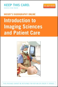 cover image - Mosby's Radiography Online: Introduction to Imaging Sciences and Patient Care