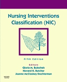 cover image - Evolve Resources for Nursing Interventions Classification (NIC),5th Edition