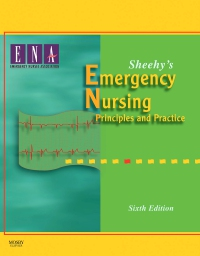 cover image - Sheehy's Emergency Nursing,6th Edition