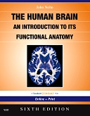 cover image - Evolve Resources for Nolte's The Human Brain,6th Edition