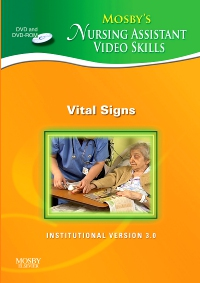 cover image - Mosby's Nursing Assistant Video Skills - Vital Signs DVD 3.0,3rd Edition