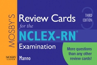 cover image - Mosby's Review Cards for the NCLEX-RN® Examination,3rd Edition
