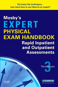 cover image - Mosby's Expert Physical Exam Handbook,3rd Edition