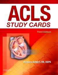 cover image - ACLS Study Cards,3rd Edition