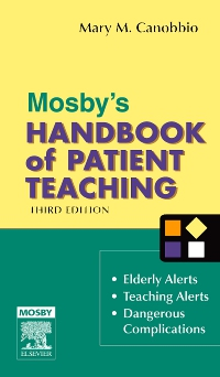 cover image - Mosby's Handbook of Patient Teaching - Elsevier eBook on VitalSource,3rd Edition