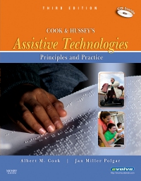 cover image - Cook and Hussey's Assistive Technologies - Elsevier eBook on VitalSource,3rd Edition