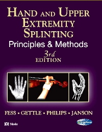 cover image - Hand and Upper Extremity Splinting - Elsevier eBook on VitalSource,3rd Edition