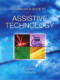 cover image - Clinician's Guide to Assistive Technology - Elsevier eBook on VitalSource