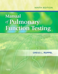 cover image - Manual of Pulmonary Function Testing - Elsevier eBook on VitalSource,9th Edition