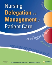 cover image - Nursing Delegation and Management of Patient Care- Elsevier eBook on VitalSource