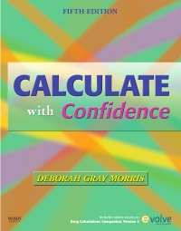 cover image - Calculate with Confidence - Elsevier eBook on VitalSource,5th Edition