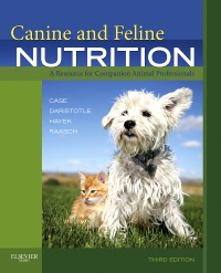 cover image - Canine and Feline Nutrition,3rd Edition