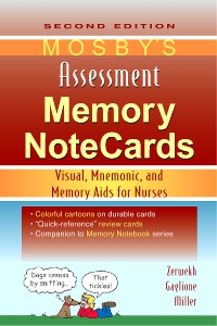 cover image - Mosby's Assessment Memory NoteCards,2nd Edition