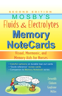 cover image - Mosby's Fluids & Electrolytes Memory NoteCards,2nd Edition