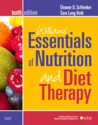 cover image - Williams' Essentials of Nutrition & Diet Therapy - Elsevier eBook on VitalSource,10th Edition