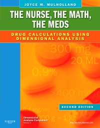 cover image - The Nurse, The Math, The Meds - Elsevier eBook on VitalSource,2nd Edition