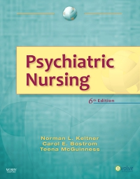 cover image - Psychiatric Nursing - Elsevier eBook on VitalSource,6th Edition