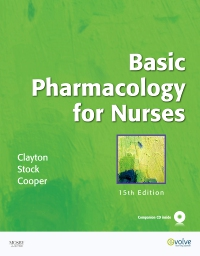 cover image - Basic Pharmacology for Nurses - Elsevier eBook on VitalSource,15th Edition