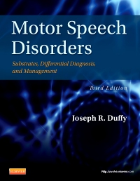 cover image - Motor Speech Disorders,3rd Edition