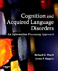 cover image - Cognition and Acquired Language Disorders