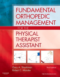 cover image - Fundamental Orthopedic Management for the Physical Therapist Assistant - Elsevier eBook on VitalSource,3rd Edition