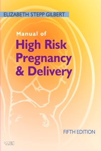 cover image - Manual of High Risk Pregnancy and Delivery,5th Edition