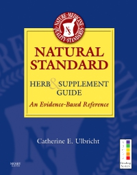 cover image - Natural Standard Herb & Supplement Guide