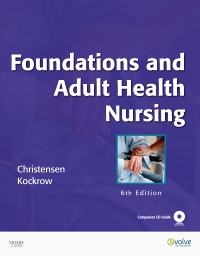 cover image - Foundations and Adult Health Nursing - Elsevier eBook on VitalSource,6th Edition