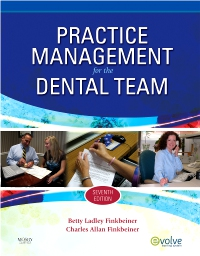 cover image - Practice Management for the Dental Team - Elsevier eBook on VitalSource,7th Edition