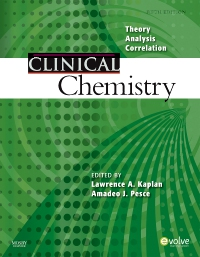 cover image - Clinical Chemistry - Elsevier eBook on VitalSource,5th Edition