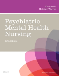 cover image - Psychiatric Mental Health Nursing - Elsevier eBook on VitalSource,5th Edition
