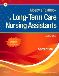 cover image - Mosby's Textbook for Long-Term Care Nursing Assistants,6th Edition